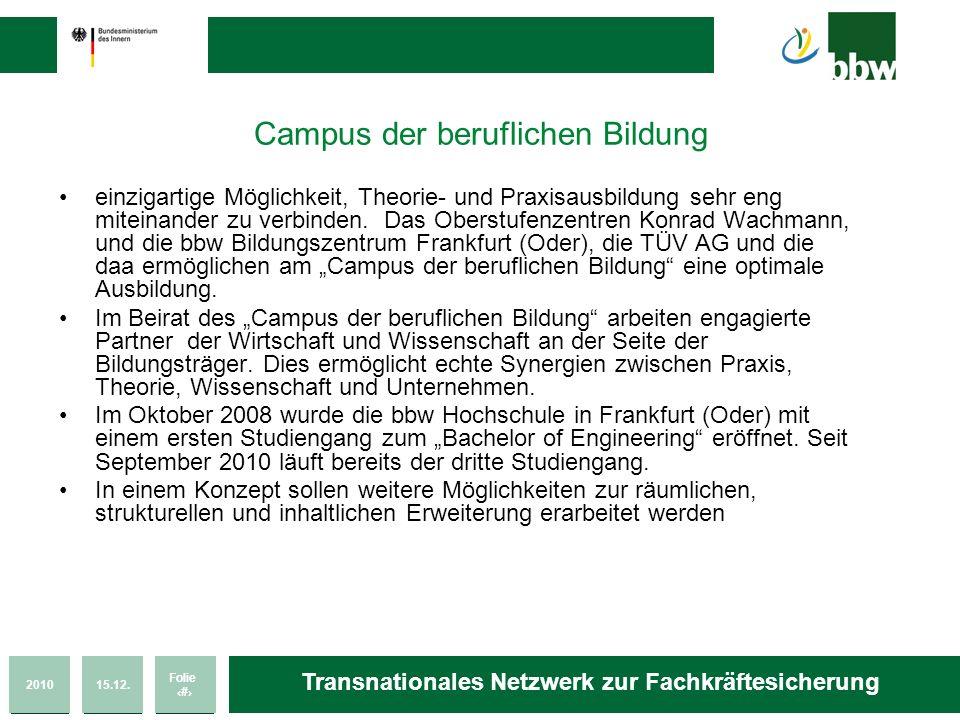 Campus der beruflichen Bildung