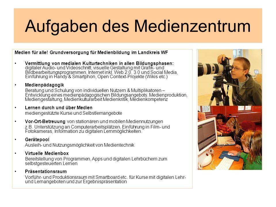 Aufgaben des Medienzentrum