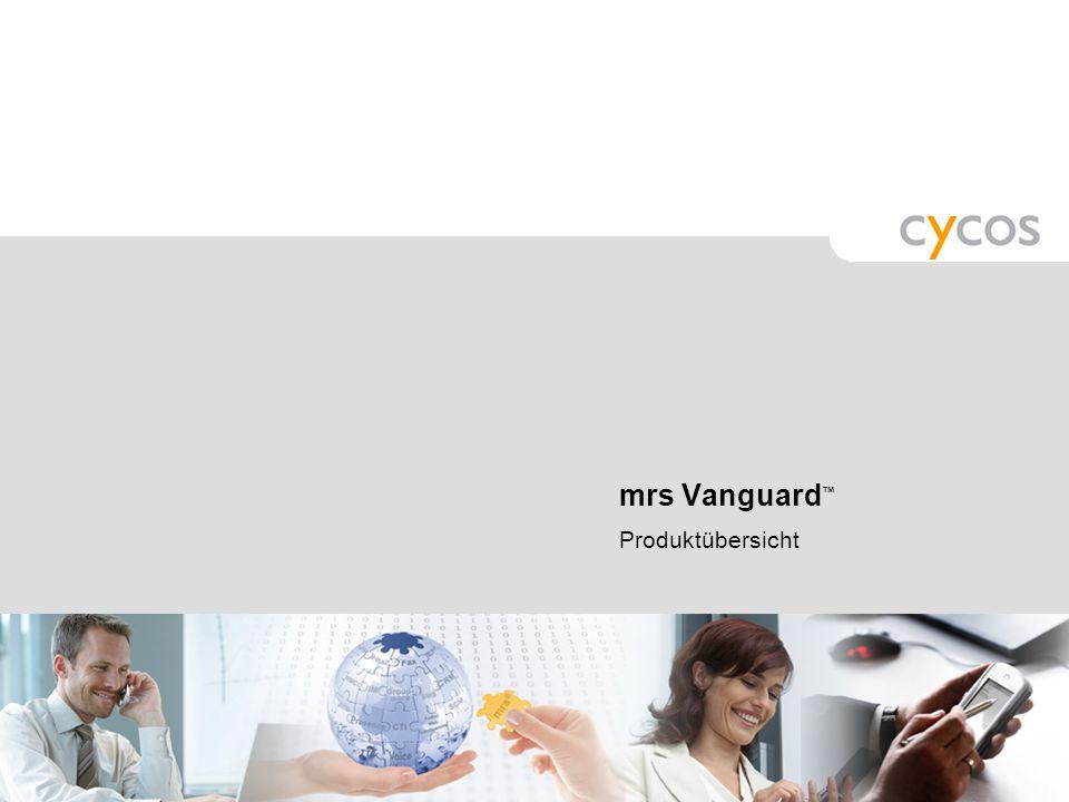 mrs Vanguard™ Produktübersicht