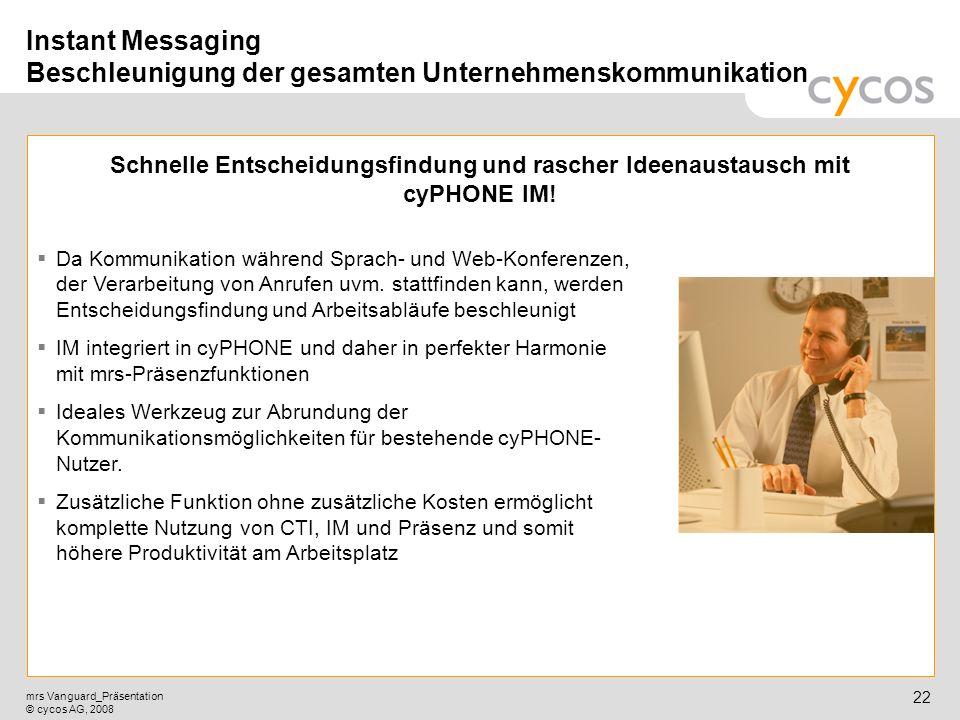 Instant Messaging Beschleunigung der gesamten Unternehmenskommunikation