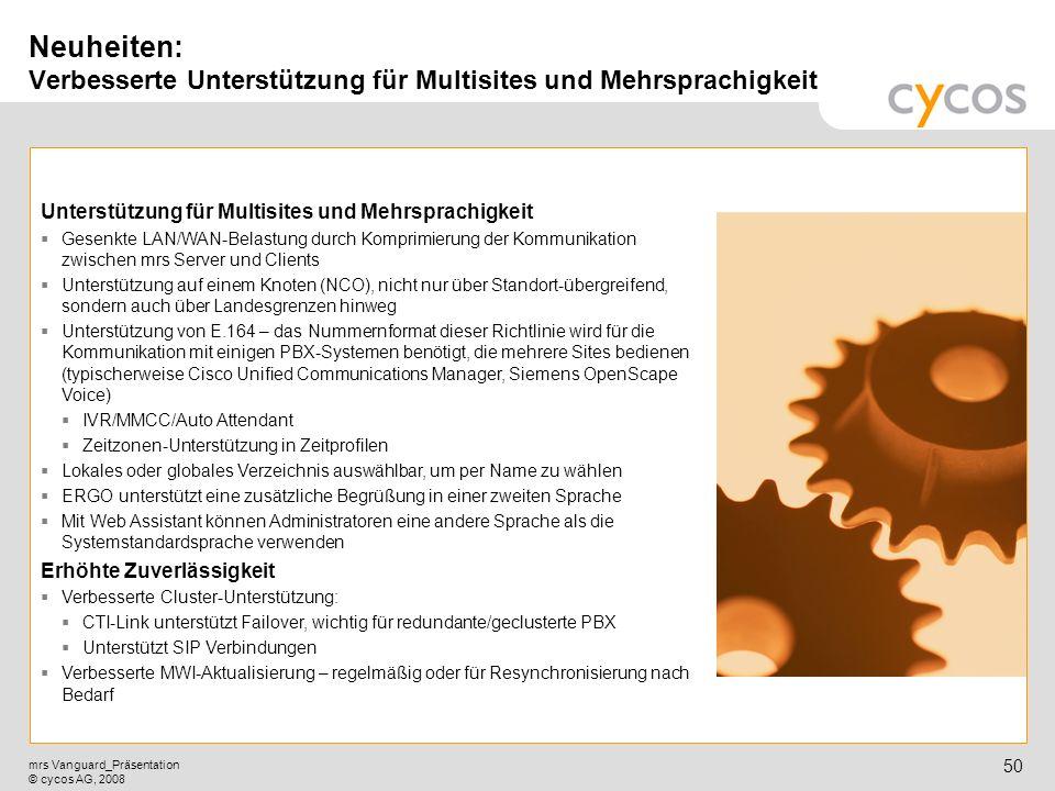 Neuheiten: Verbesserte Unterstützung für Multisites und Mehrsprachigkeit