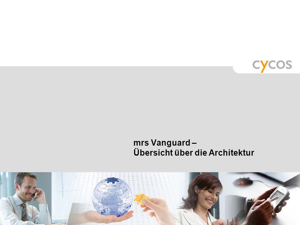 mrs Vanguard – Übersicht über die Architektur