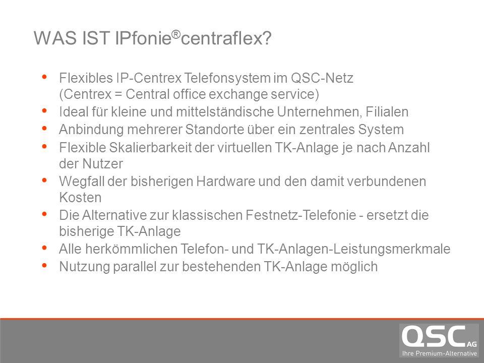 WAS IST IPfonie®centraflex