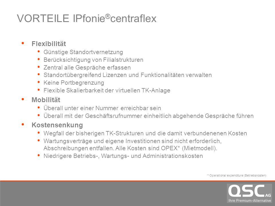 VORTEILE IPfonie®centraflex