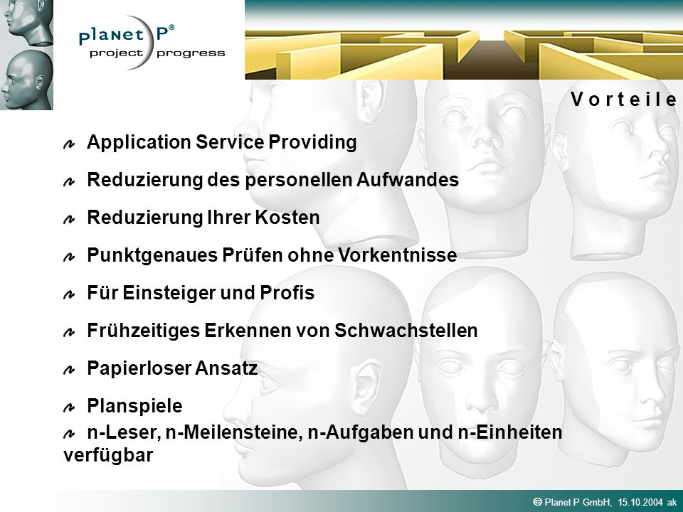 V o r t e i l e Application Service Providing. Reduzierung des personellen Aufwandes. Reduzierung Ihrer Kosten.