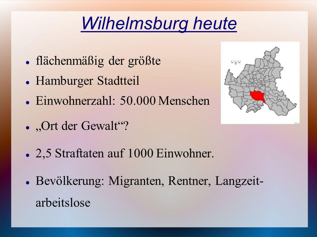Wilhelmsburg heute flächenmäßig der größte Hamburger Stadtteil