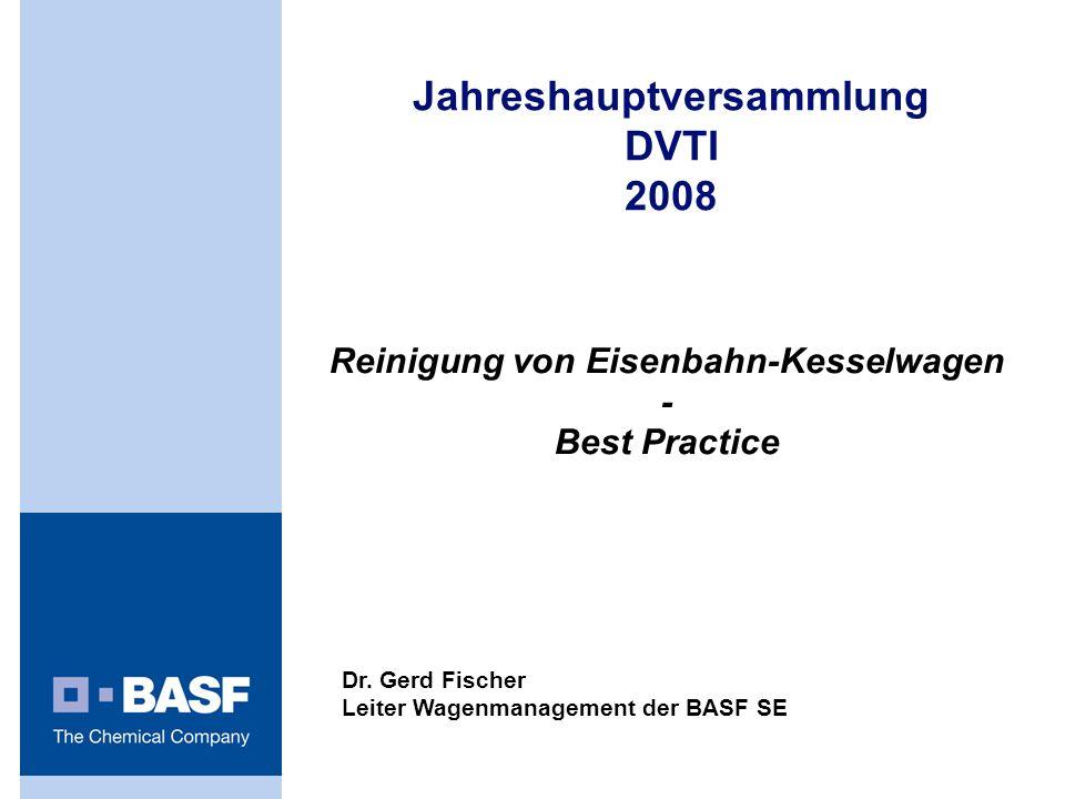 Reinigung von Eisenbahn-Kesselwagen - Best Practice