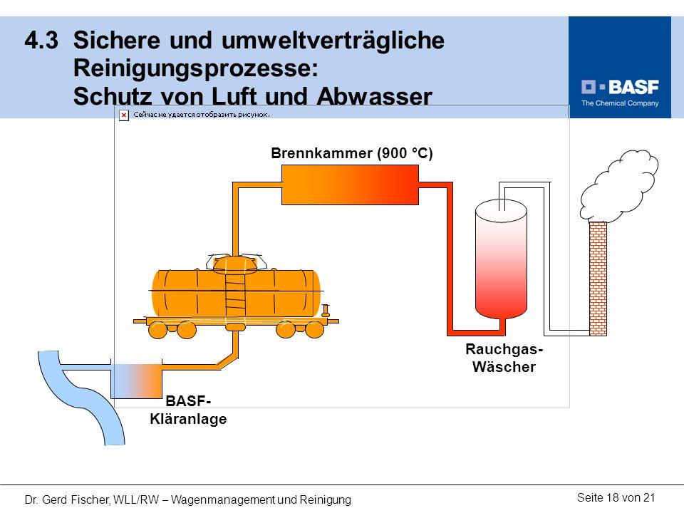 13122-02.ppt 4.3 Sichere und umweltverträgliche Reinigungsprozesse: Schutz von Luft und Abwasser.