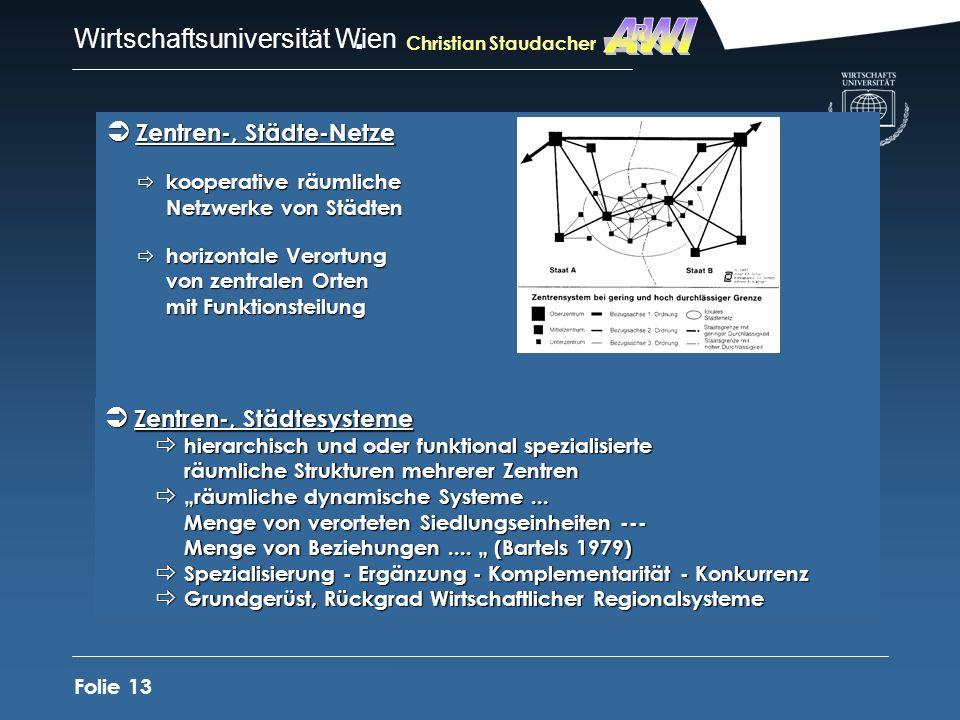 AWI R Zentren-, Städte-Netze Zentren-, Städtesysteme
