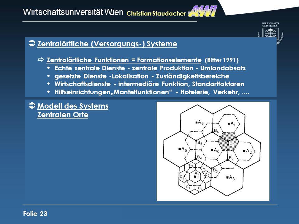 AWI R Zentralörtliche (Versorgungs-) Systeme