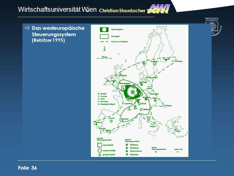AWI R Das westeuropäische Steuerungssystem (Rebitzer 1995) Folie 36