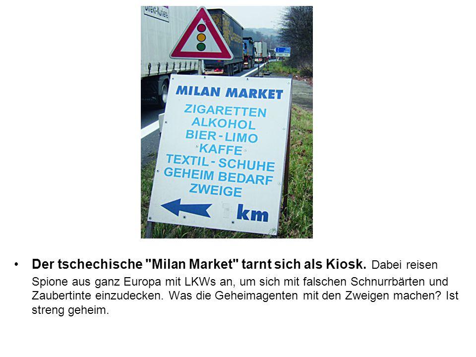 Der tschechische Milan Market tarnt sich als Kiosk
