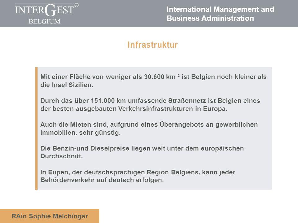 Infrastruktur Mit einer Fläche von weniger als 30.600 km ² ist Belgien noch kleiner als. die Insel Sizilien.