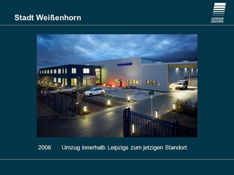 2008 Umzug innerhalb Leipzigs zum jetzigen Standort