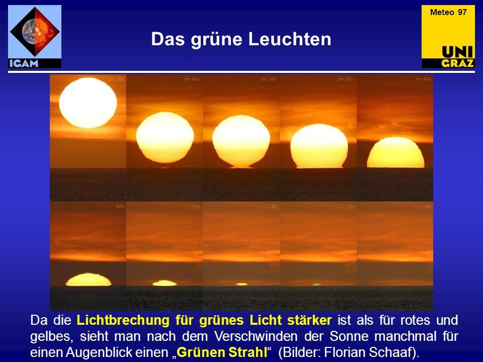 Meteo 97 Das grüne Leuchten.