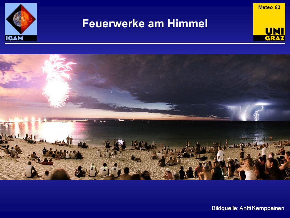 Meteo 83 Feuerwerke am Himmel Bildquelle: Antti Kemppainen