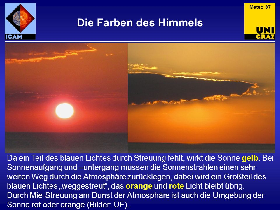 Meteo 87 Die Farben des Himmels.