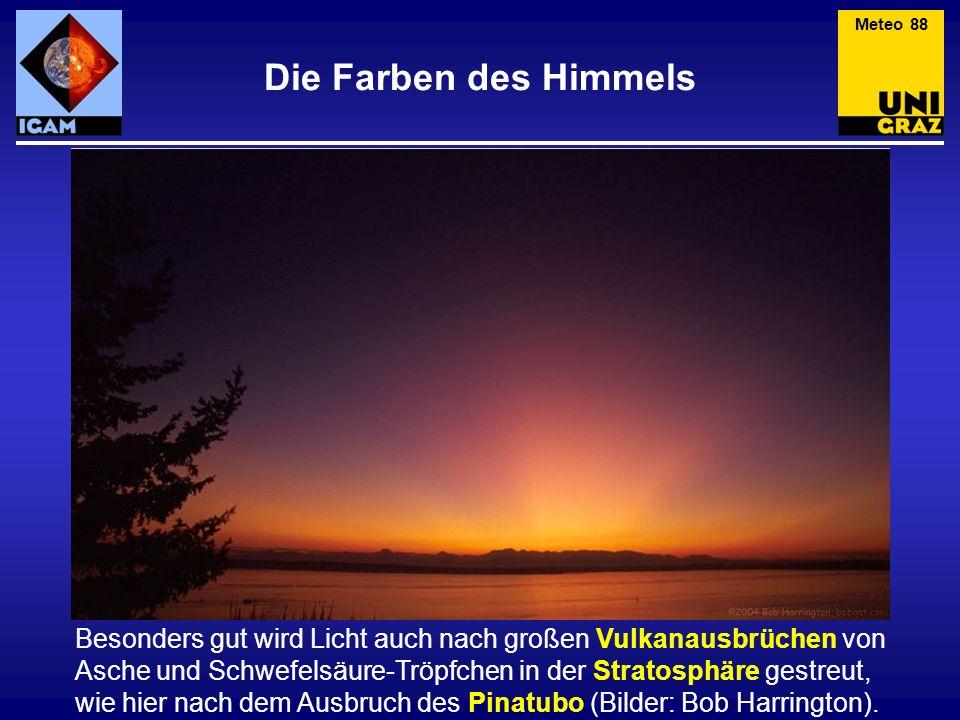 Meteo 88 Die Farben des Himmels.