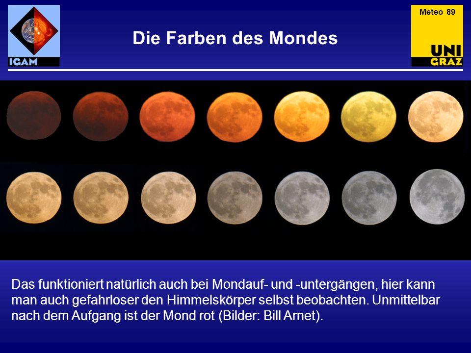 Meteo 89 Die Farben des Mondes.