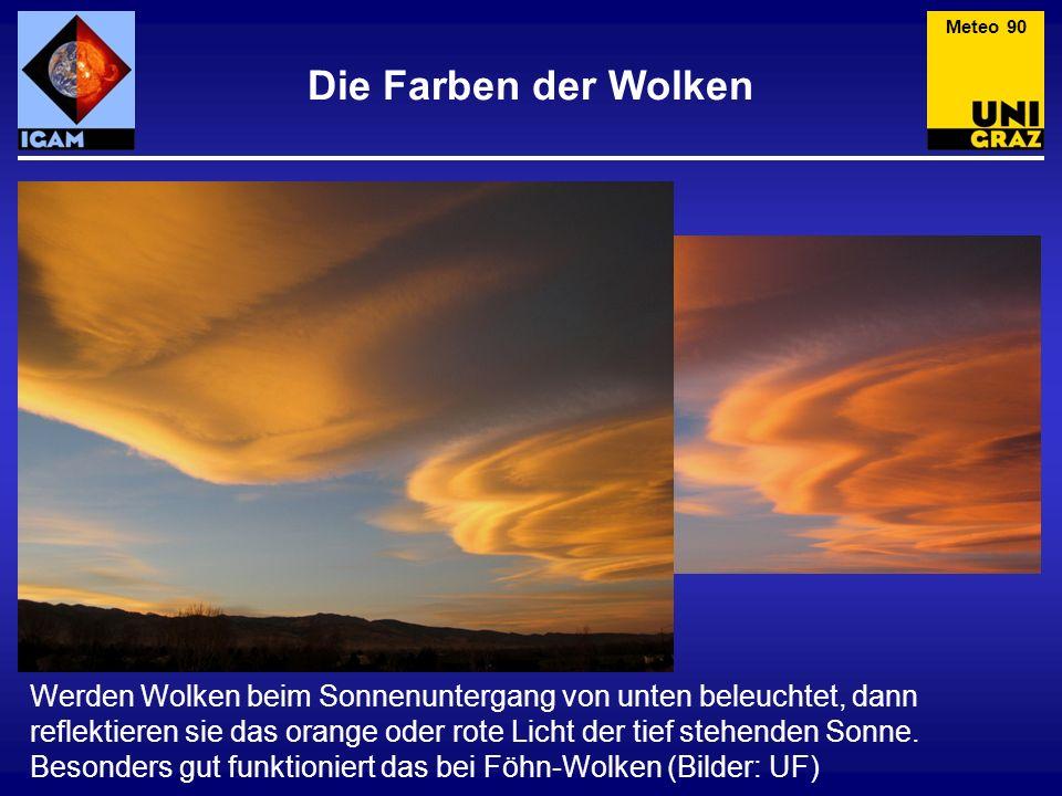 Meteo 90 Die Farben der Wolken.