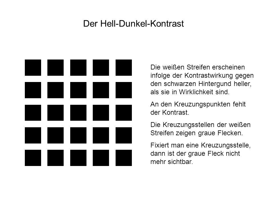 Der Hell-Dunkel-Kontrast