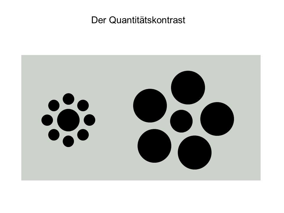 Der Quantitätskontrast