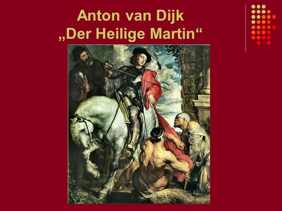 """Anton van Dijk """"Der Heilige Martin"""