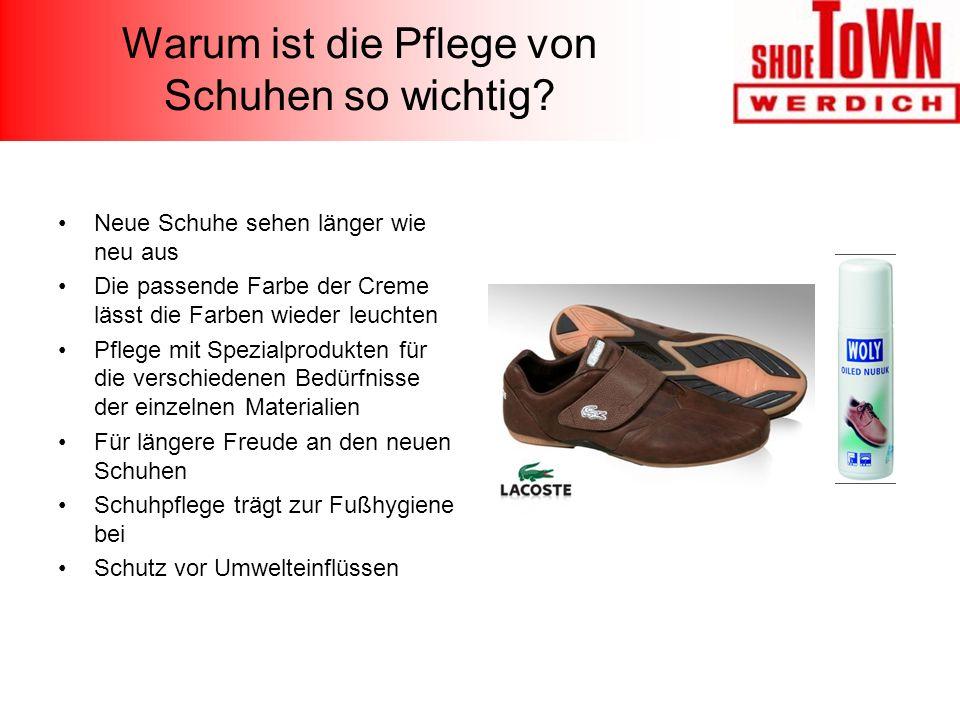 Warum ist die Pflege von Schuhen so wichtig