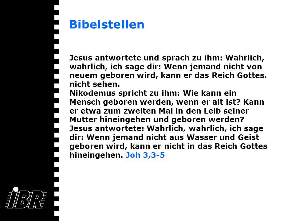 Bibelstellen