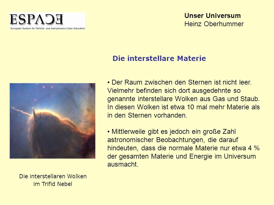 Die interstellaren Wolken