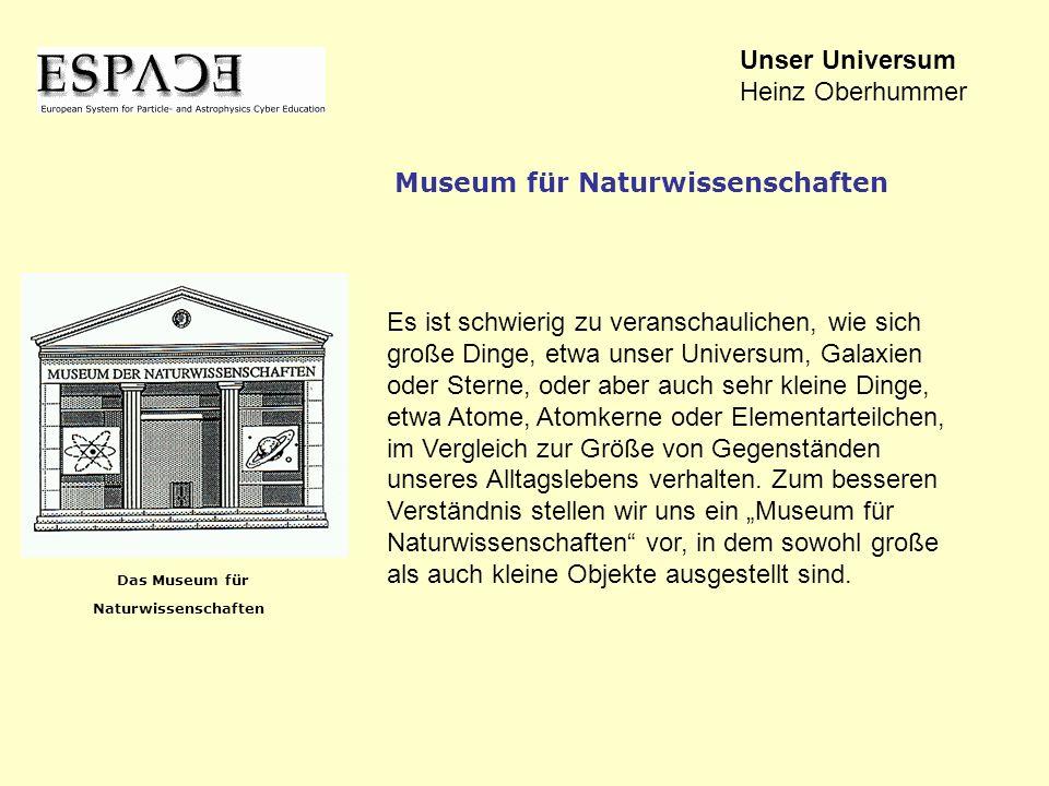 Unser Universum Heinz Oberhummer