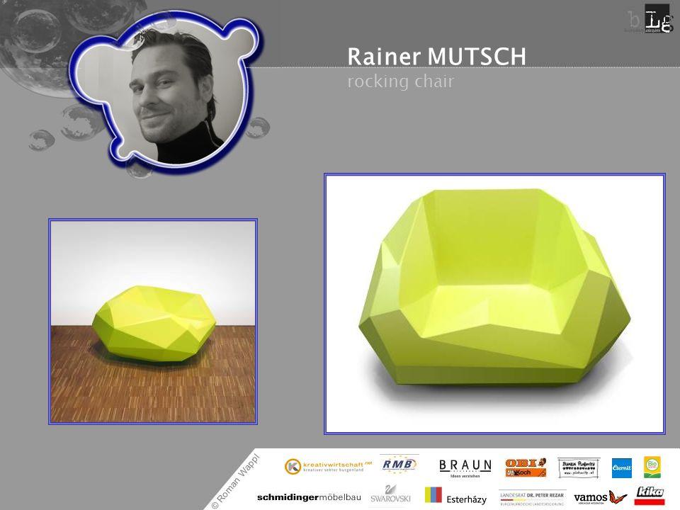 Rainer MUTSCH rocking chair