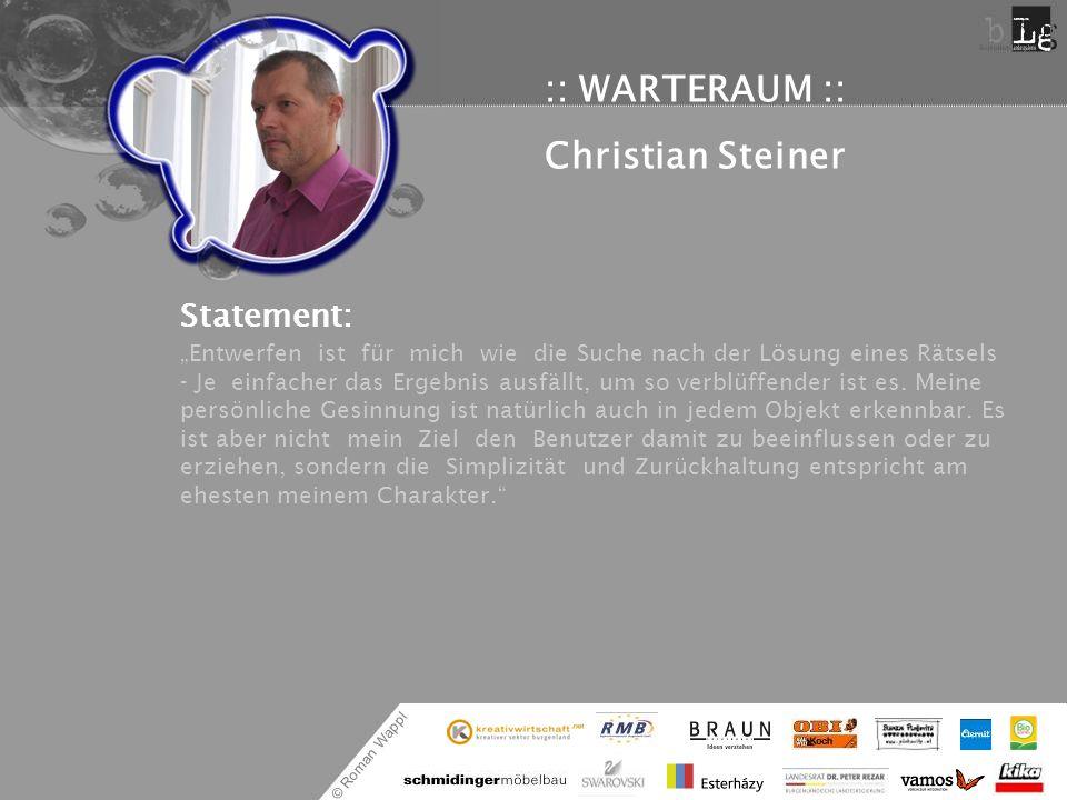 :: WARTERAUM :: Christian Steiner