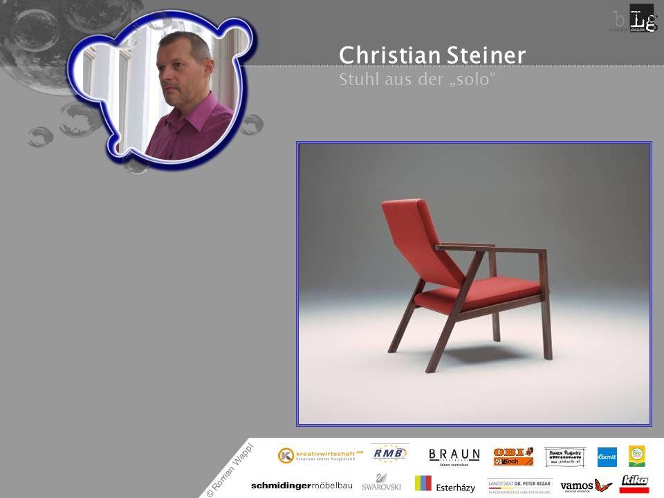 """Christian Steiner Stuhl aus der """"solo"""