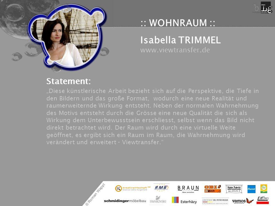 Isabella TRIMMEL www.viewtransfer.de
