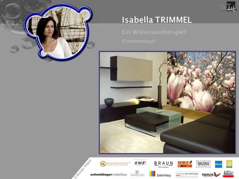 Isabella TRIMMEL Ein Wohnraumbeispiel (Fotomontage)