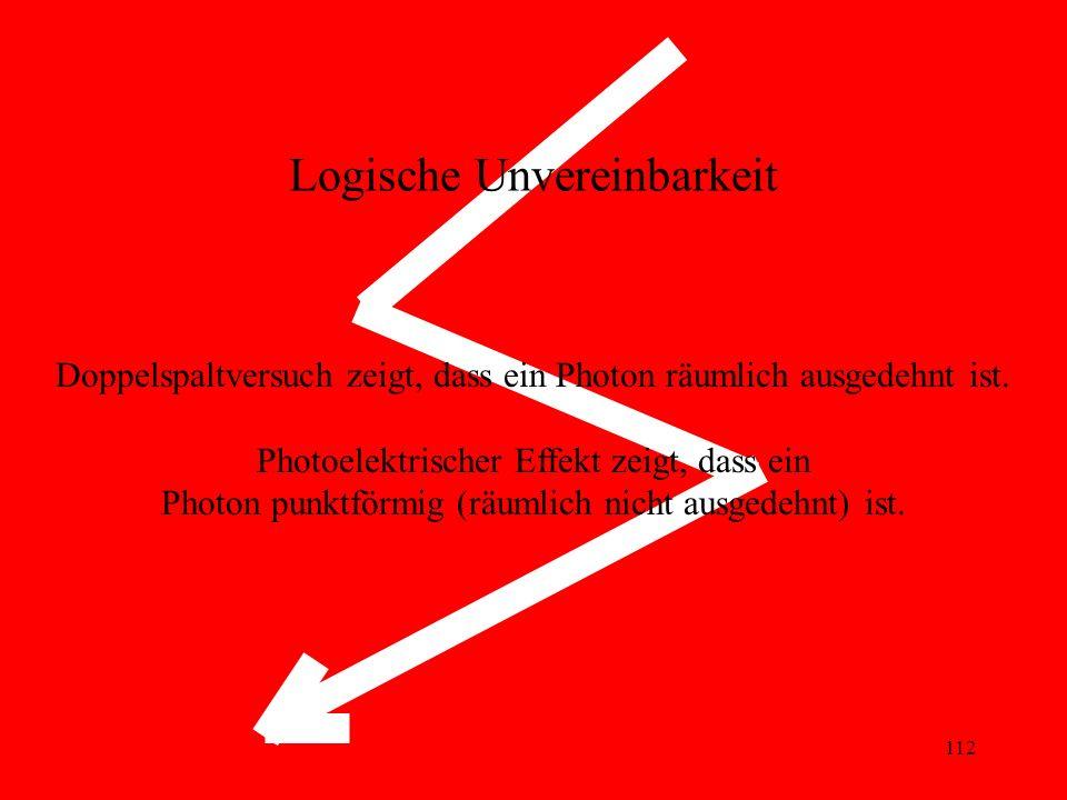 Logische Unvereinbarkeit