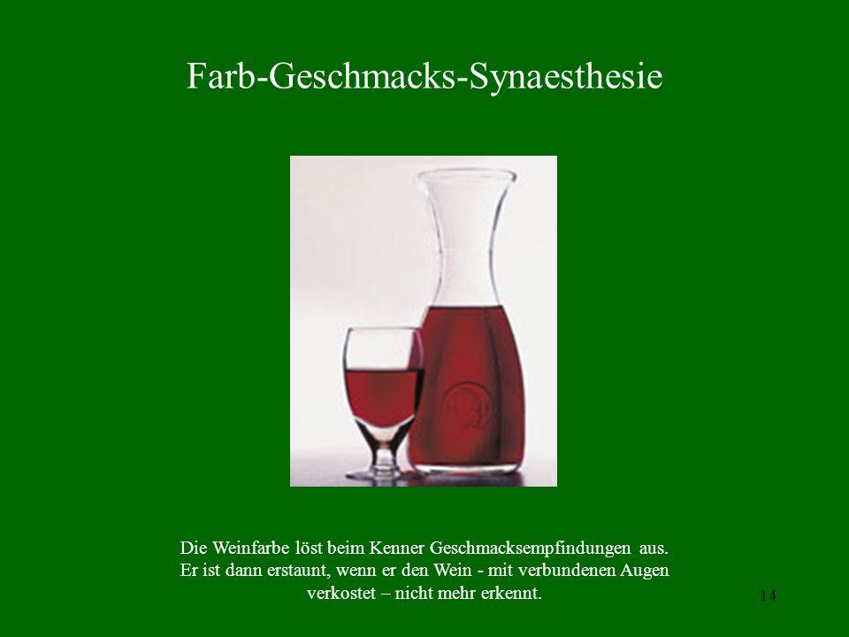 Farb-Geschmacks-Synaesthesie