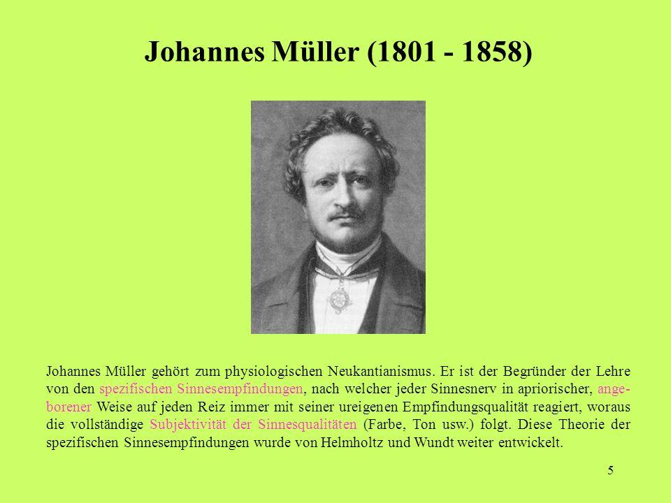 Johannes Müller (1801 - 1858)