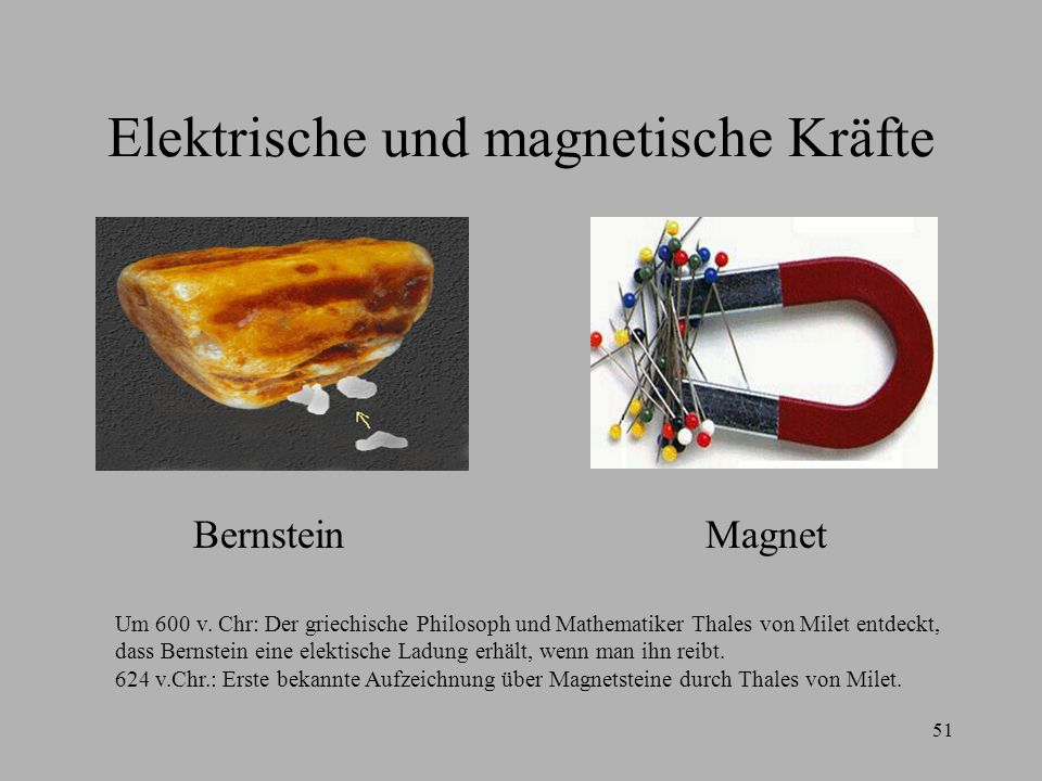 Elektrische und magnetische Kräfte