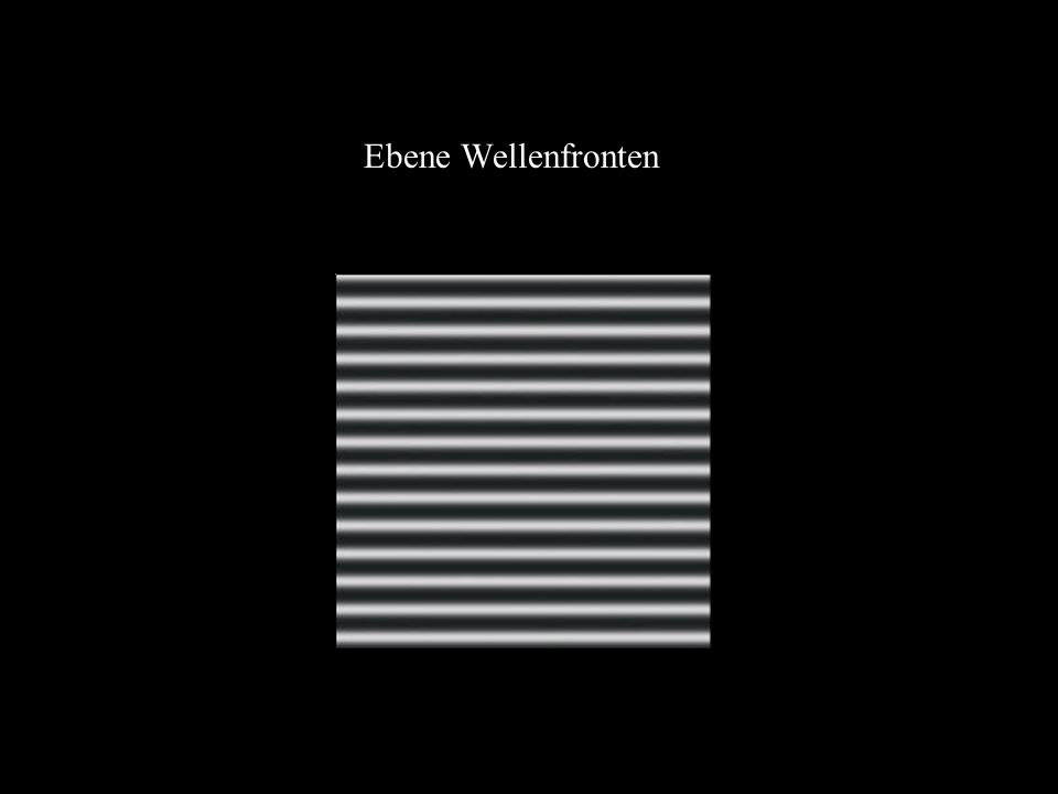 Ebene Wellenfronten