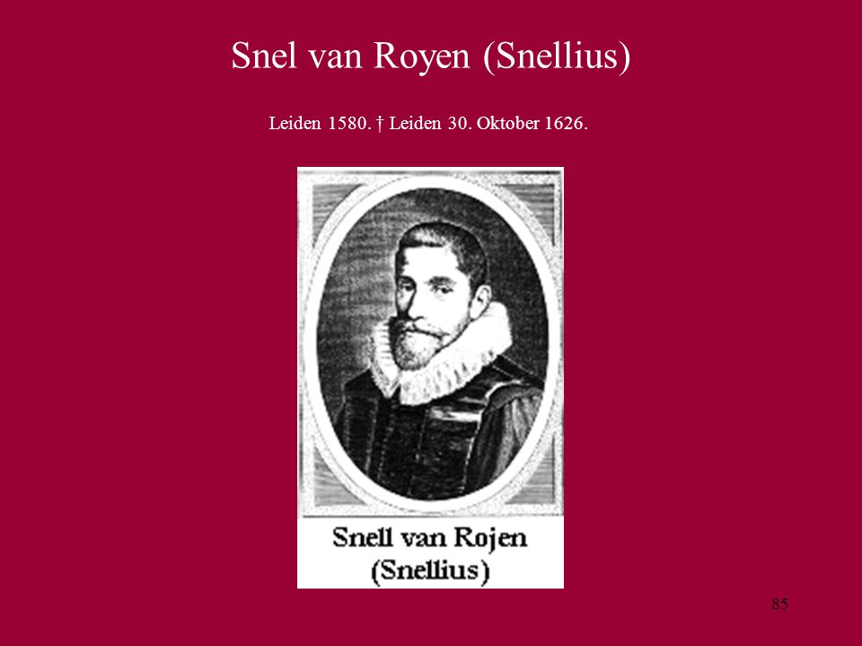 Snel van Royen (Snellius)