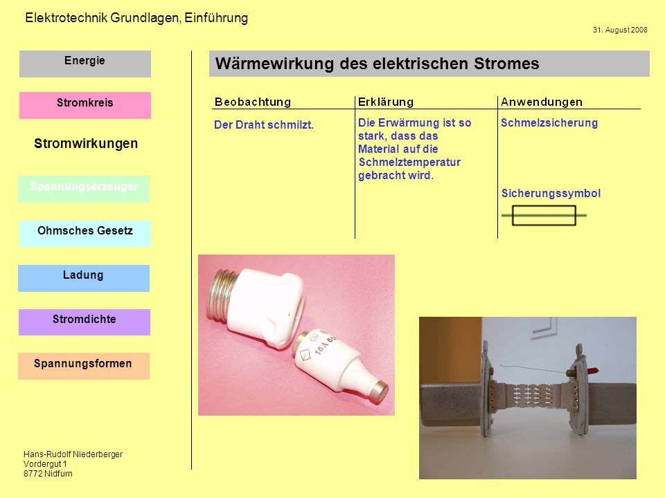 Tolle Schematisches Sicherungssymbol Ideen - Elektrische ...