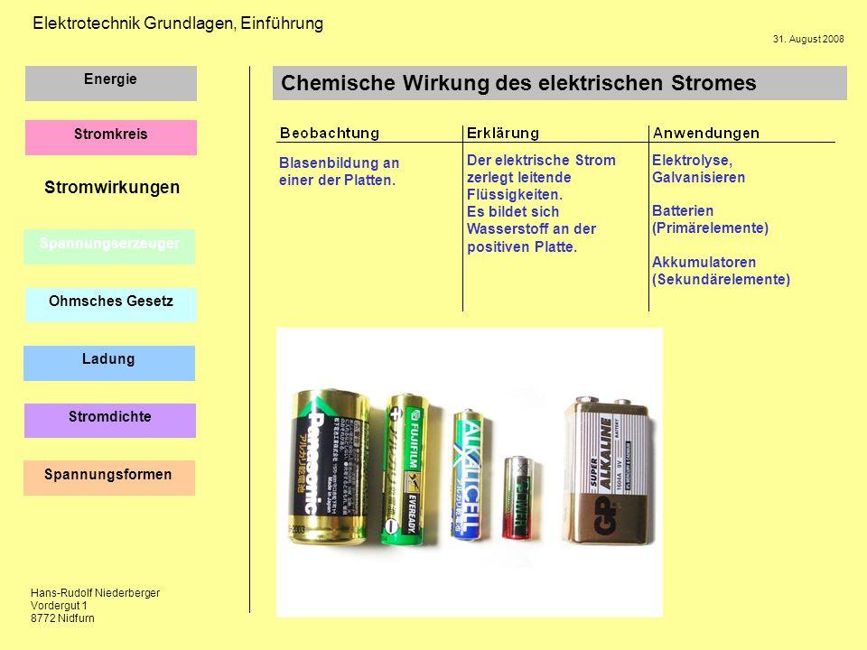 Ausgezeichnet Elektrisches Grundwissen Galerie - Elektrische ...