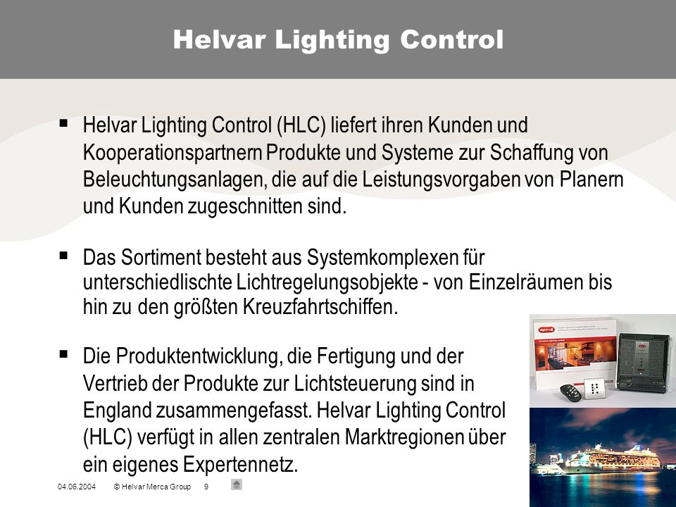 Helvar Lighting Control