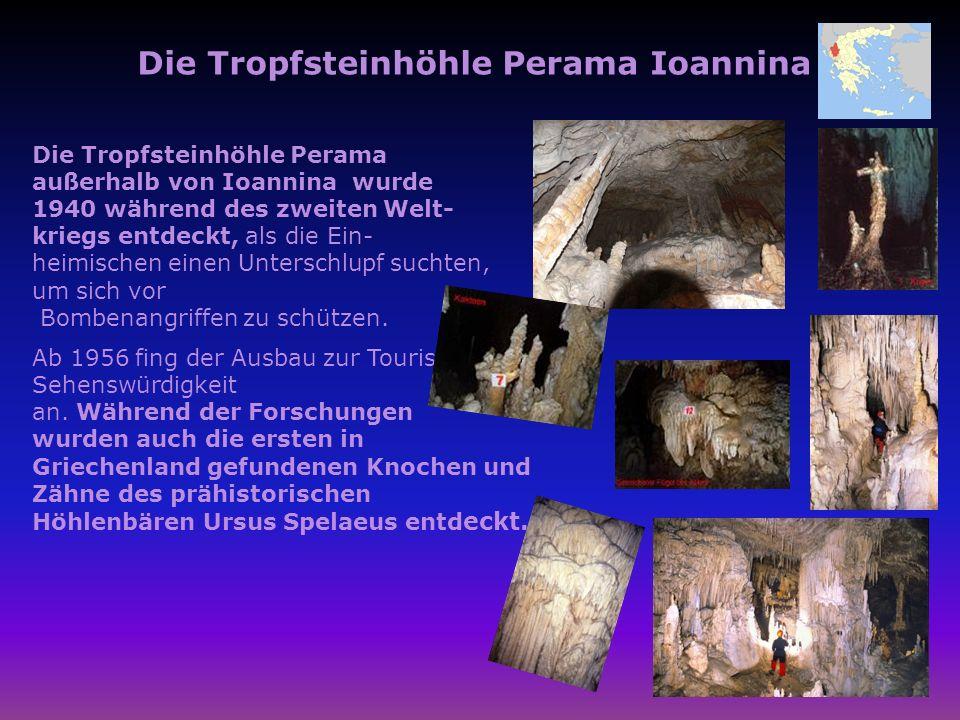 Die Tropfsteinhöhle Perama Ioannina