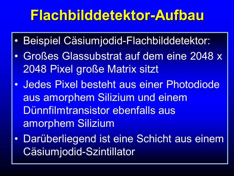 Flachbilddetektor-Aufbau