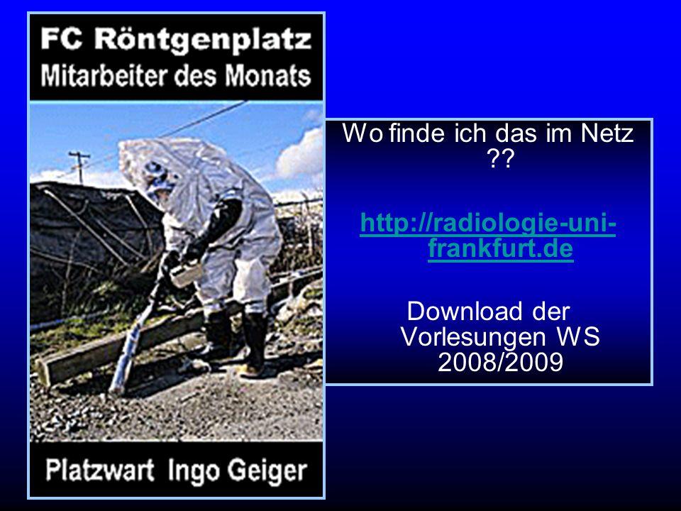 Download der Vorlesungen WS 2008/2009