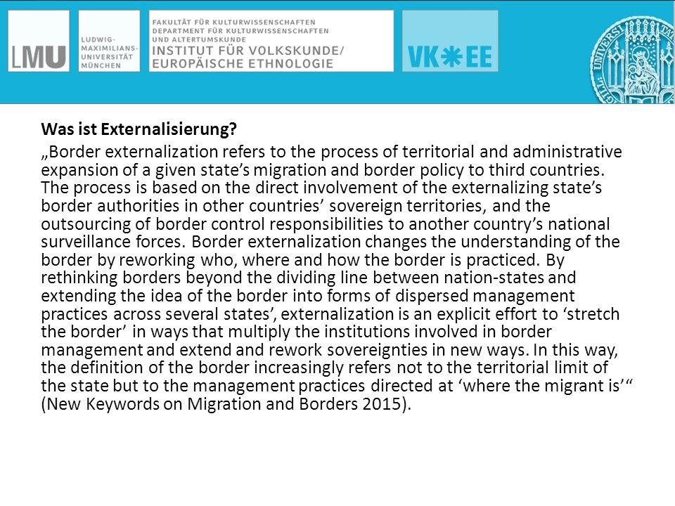 Was ist Externalisierung