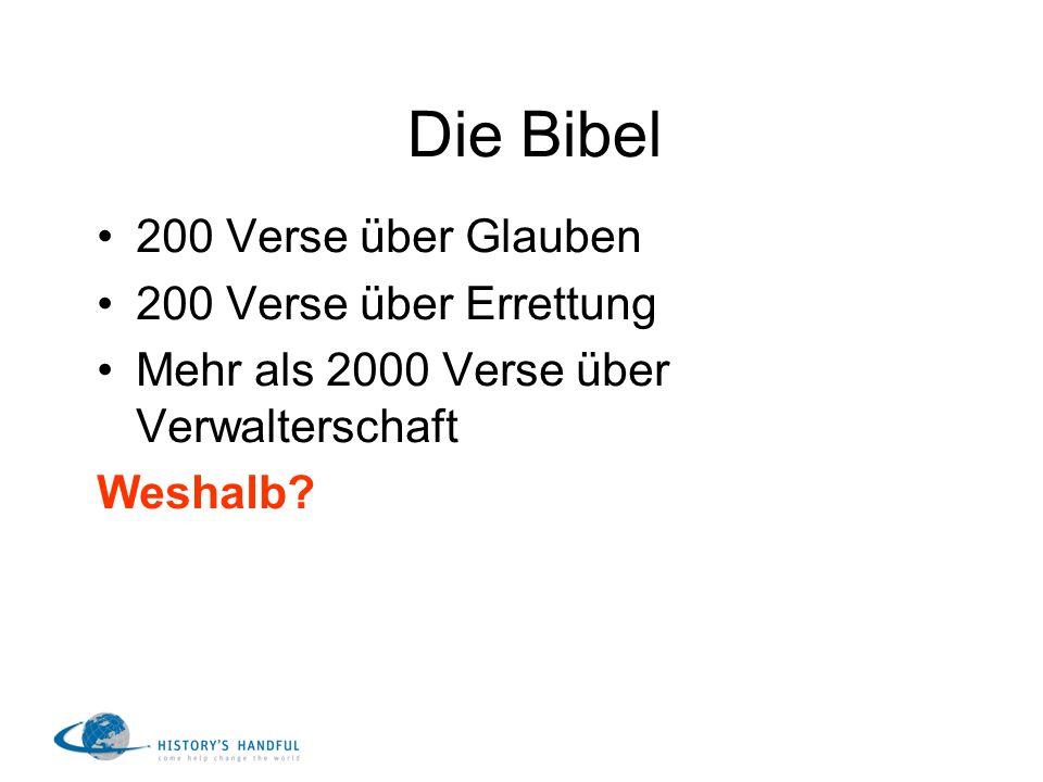 Die Bibel 200 Verse über Glauben 200 Verse über Errettung